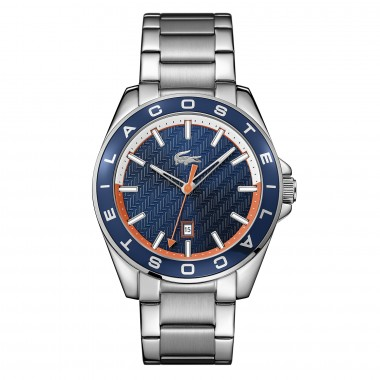 Reloj West Port Plateado...