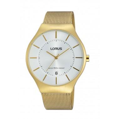 Reloj Análogo Dorado Lorus...