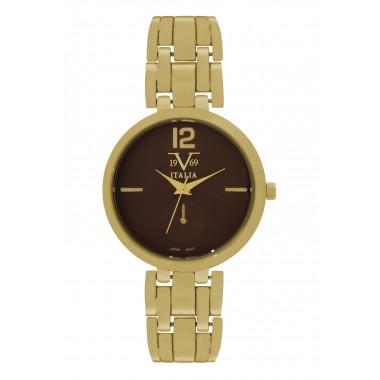 Reloj Análogo Dorado 19V69...